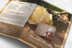 Paper For Funeral Programs Funeral Program Templates To Create Beautiful Keepsakes Your Tribute