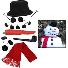 amazon com evelots my very own snowman kit 15 pieces included