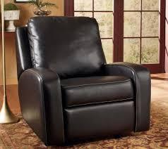black leather glider rocker recliner glider rocker chair