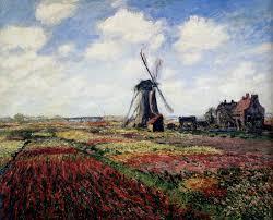 Tulip Field File Monet Tulip Fields With The Rijnsburg Windmill 1886 Jpg