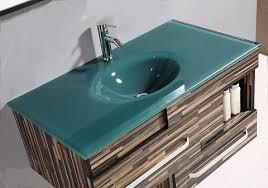 integrated sink vanity top cool glass vanity top with integrated sink 56 on modern home with