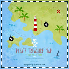 treasure map green treasure map background vector free