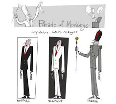 parade of monkeys