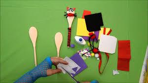 spoon puppet cat dog rabbit like mister maker youtube