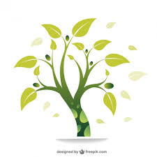 eco green tree vector vector free