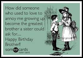 Funny Sister Birthday Meme - funny birthday quotes for brother from sister 5 guys numbers