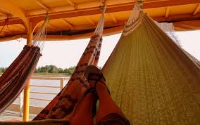 hammock bed a guide to travelling by boat down the amazon global goose