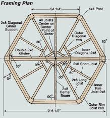 Picnic Table Plans Free Hexagon by Free Plans For Building A Hexagon Picnic Table Woodworking Plan