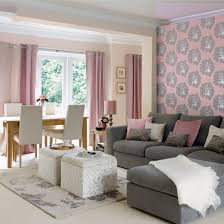 pink living room ideas peaceful design grey and pink living room innovative decoration