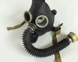 Halloween Costume Gas Mask Black Gas Mask Gp 5 Black Rubber Hose Tube Russian Soviet