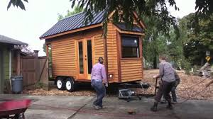 how to move a tiny house on wheels tiny house tour and tiny