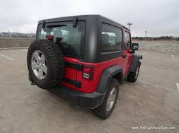 maroon jeep wrangler 2 door review 2012 jeep wrangler rubicon the truth about cars
