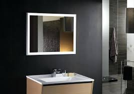 Led Lights In Bathroom Mirror With Led Light Mirror
