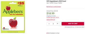 play gift card sale bj s gift card sale 24 applebee s 12 itunes and 10