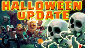 Halloween Skeleton Games by Clash Of Clans Halloween Update Skeleton Trap Halloween