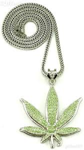 new necklace chain images Large weed new pot leaf pendant iced out necklace chain for sale jpg