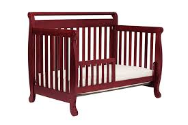 Davinci Emily 4 In 1 Convertible Crib White Davinci Emily 4 In 1 Convertible Crib In Rich Cherry