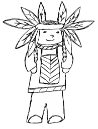 thanksgiving indian chief clip art by carrie teaching first thanksgiving doodles clip art