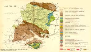 Map Of Southern England by Geology Of The Central South Coast Of England Introduction And Maps