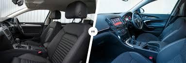 opel insignia 2017 inside vw passat vs vauxhall insignia company car clash carwow