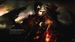 Captain America The Battle End Wallpaper On Behance