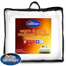 Silent Night Duvet Buy Silentnight Warm U0026 Snug Mattress Topper King At Home Bargains