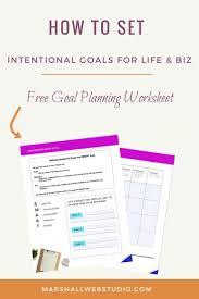 Setting Smart Goals Worksheet 244 Best Goal Setting For Creative Entrepreneurs Images On