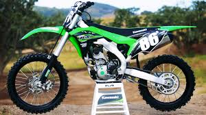 first motocross bike first ride 2017 kawasaki kx250f motocross action magazine youtube