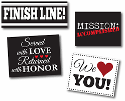 Welcome Home Banners Printable by Printable Return Missionary Airport Or Home Collection Lds