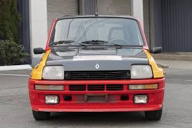 renault hatchback from the 1980s just listed 1984 renault r5 turbo 2 rally replica automobile