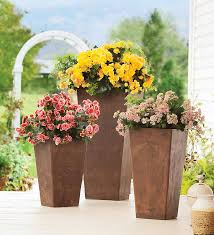 loving tall planters look for less its overflowing