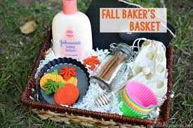 baking gift basket fall baker s basket