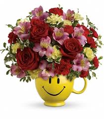 same day just because flowers just because so happy you re mine bouquet by teleflora tucson az