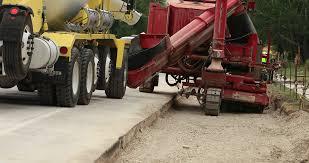 construction cement truck filling equipment highway dci 4k 148