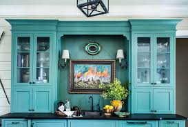country style kitchen cabinets pictures blue country style kitchen with seeded glass cabinet doors