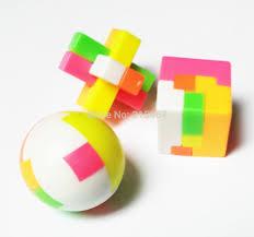 Favor Toys by 6 Puzzle Brain Cube Burr Pinara Bag Filler