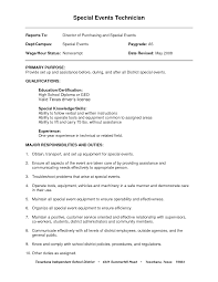 Example Resume For Warehouse Worker by General Labor Job Resume