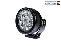 4 inch round led lights 120 7 led round driving light great whites