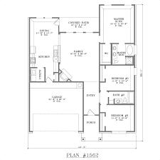 40x60 Floor Plans by Plan 1562 Floor Plan 40x60 House Plans 3 Bedrooms Swawou