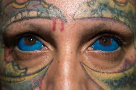 latest trend in body modification tattooed eyeballs photos