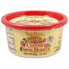 sue bee premium clover spun honey 16 oz meijer com