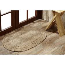 Natural Jute Rugs Natural Braided Jute Rug Collection By Vhc Brands