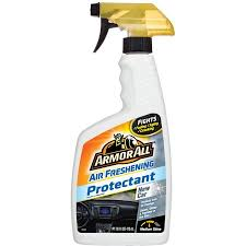 air freshener new car smell armor all air freshening protectant spray with new car scent
