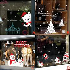 online get cheap christmas window stickers aliexpress com