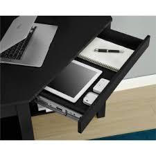 Ameriwood Corner Desk Ameriwood Nelson Black Corner Desk Hd29549 The Home Depot