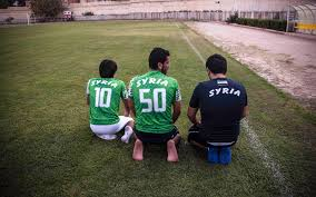 Rebel Syrian Flag Syrian Pro Soccer Player Fled To Turkey To Play With Free Syrian