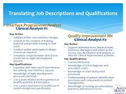 Resume Project Writing The Project Based Health It Resume M Ellen Ourednik