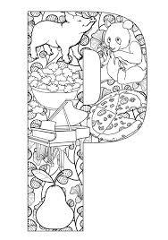 letter i coloring pages 100 best alphabet coloring images on pinterest mandalas