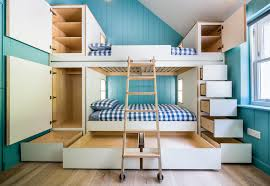 Plywood Bunk Bed Birch Plywood Bunk Beds Scandinavian Other By Birkwood