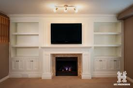 built in entertainment unit fireplace mantle home ideas